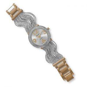Two Tone Multistrand Fashion Watch