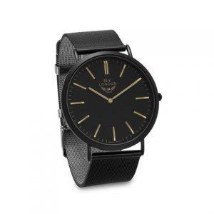 Black Mesh Fashion Watch