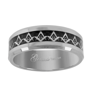 tungsten-masonic-comfort-fit-wedding-band